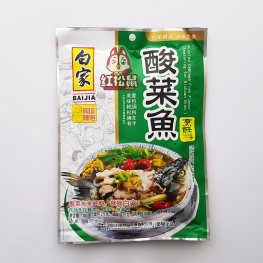 BaiJia Pickled Cabbage Fish Seasoning